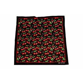 Pañuelos Bandanas Colores Cerezas Rocker Pin Up Cherry