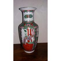 Vaso Chines Cia Das Indias.porcelana Antiga.mandarim
