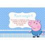 Invitaciones Infantiles Cumpleaños Peppa Pig Niños Económica