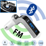 Bluetooth Coche Kit Mp3 Player Fm Transmisor Radio