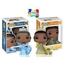 Tiana Set 2 Piezas Funko Pop Pelicula Disney Princesas Cf