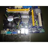 Board Foxcon(g31mv-k)+dual Core E5200 2.5ghz+cooler+rejilla