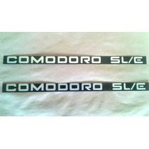 Emblema Plaqueta Friso Comodoro Sl/e Opala/caravan 91/92