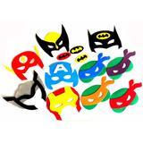 Máscaras Tartarugas Ninjas Eva Super Heróis Vingadores