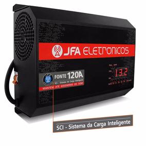 Fonte 120a Jfa 6000w Rms Similar Taramps Tef120 Automotiva