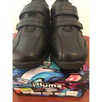 Zapatos De Colegio Pluma Niño 37