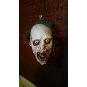 Zombie Halloween Decoracion Cabeza Decapitada