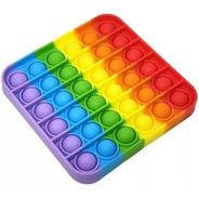 Pop It Fidget Brinquedo Anti Stress Sensorial Toy Bubble Top