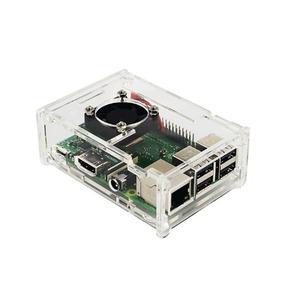 Case Para Raspberry Pi + Cooler De Refrigeração