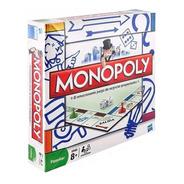 Monopoly Popular Juego De Mesa Negocios Hasbro 840 Educ Full