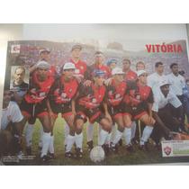 Vitória Campeão Baiano 1995 Poster Placar Avulso