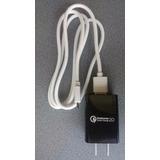 Cargador Celular Carga Rapida,75% Mas Rapido,incluye Cable