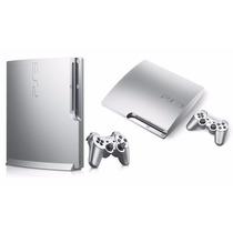 Playstation 3 Sony Roja 320gb Slim Sin Caja + Joystick + Pes