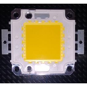 Chip De Alta Potência Led 100 W Dc 10 V-32 Branco Quente
