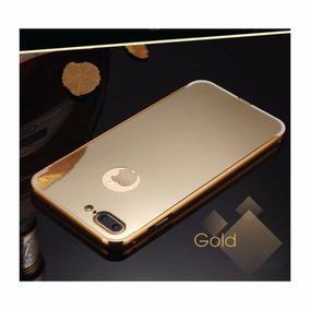 Funda Bumper Iphone 7 / 7 Plus Espejo Aluminio Buena Calidad