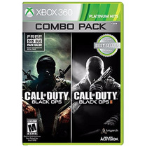 Call Of Duty: Black Ops 1 & 2 Para Xbox 360 ¡sólo En Gamers!
