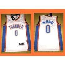 Camisetas N B A - Oklahoma City - #0 Westbrook -