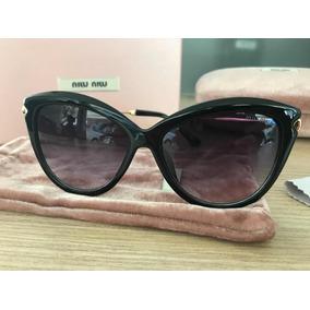 Oculos De Sol Gatinho Miu Miu - Óculos no Mercado Livre Brasil 4fd8bea390