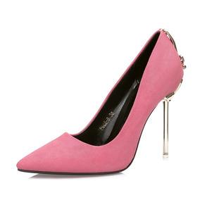 Sapato Feminino Scarpin Salto Alto Princesa Importado Veludo