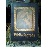 Rara Biblia Sagrada Ediçao Barsa Familia Catolica + Suporte