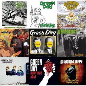 Green Day Discografía Completa Lote Nuevo 15 Cd + 4 Dvd