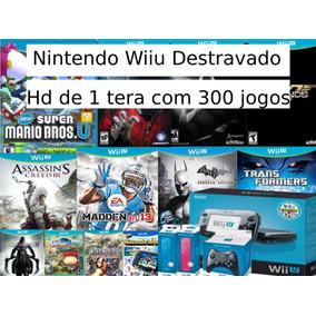 Nintendo Wiiu + Hd 1 Tera
