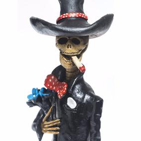 Beto Catrina Mexicana De Barro 100% Hecha A Mano¡¡¡