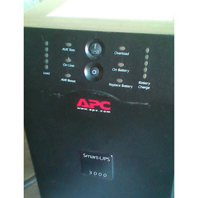 Ups Apc Smart 3000v (leer Descripcion)