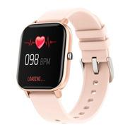 Smartwatch Colmi P8 1.4  Caixa E Pulseira Na Cor Rose Gold