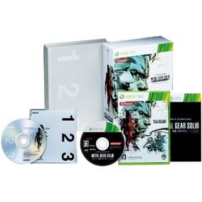 Metal Gear Solid Hd Edition Edición Limitada Importación Ja
