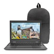 Laptop Lenovo 100e 2gen Amd 3015e 4gb 64gb W10pro + Regalo