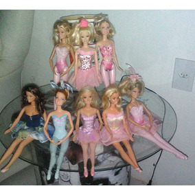Lote 8 Barbies Bailarinas
