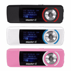 Reproductor Mp3 8 Gb Master G - Mobilehut