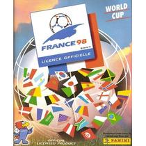 Álbum Escaneado Da Copa Do Mundo 1998 França Campeã