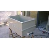 Tanque Plástico,galvanoplastia,cromo,banho Químico,pintura