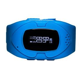 Reloj Celular P/niños Pcbox Safe Celeste Gps Botónantipánico