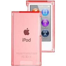 Case Capa Ipod Nano 6/7 Transp, Preta,vermelha, Rosa, Azul