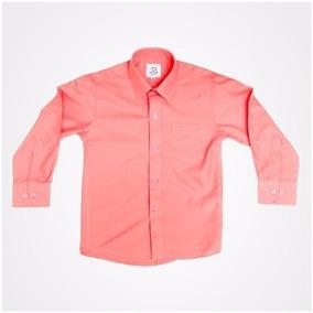 Camisa Manga Larga Oscar Coral 1 2 3 Y 3x Incluye Moño