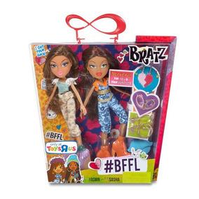 Boneca Bratz Amigas. Kit Com 2 Bonecas Yasmin E Sasha