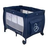 Berço Chiqueirinho Cercado Bebe Ninho Azul 2080 - Galzerano