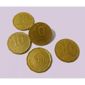 Moneda - 10 Centavos De Austral - Argentina - 1986/1987/1988