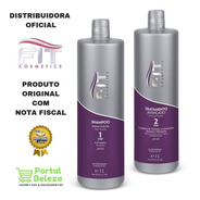 Kit Escova Progressiva Inteligente Fit Cosmeticos 2 Litros