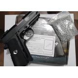 Pistola Colt Defender. Gas De Balines Metal