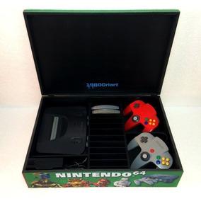 Caixa Vazia Nintendo 64 Com Divisórias ( Leia O Anúncio )