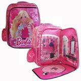Mochila Escolar Barbie Bolso Infantil Para Nenas Navidad