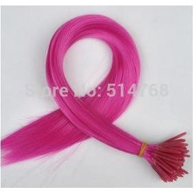 Mecha Coloridas Aplique 40cm - Dark Pink - Frete Fixo R7,00