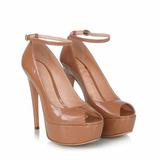 Sandália Salto Alto Fino Calcanhar Fechado Marc Leluel Shoes