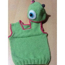 Chaleco+gorra Tejido A Crochet