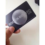Rock In Rio Card (inteira) - Dia 19/09 - Show Metallica