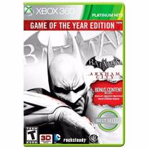 Batman Arkham City Goty Xbox 360 Lacrado + Brinde